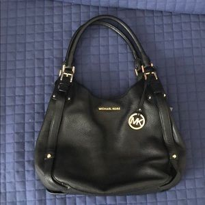 EUC Michael Kors Leather Hobo Bag